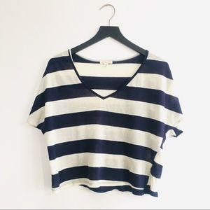 Urban Outfitters Silence + Noise Stripe Dolman Top